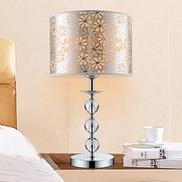 LED Modern Triple Ball Crystal Table Lamp