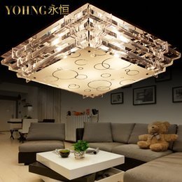Wholesale Guzhen Low Factory Led Ceiling Chandelier Modern Minimalist Living Room Lamp Bedroom Rectangle