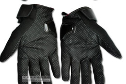 Free shipping Men motocross Full finger Carbon fiber gloves ventilate leather racing motorcycle cycling gloves moto gloves ( order link) on Sale