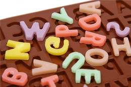 $enCountryForm.capitalKeyWord Canada - Hot sale Cake Ice Mould Chocolate Fondant Cookies Alphabet Letter Mold Silicone Free Shipping TY1709
