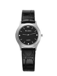 $enCountryForm.capitalKeyWord Canada - Time-limited New Unisex Two Needle Black Round Watches Ultrathin Quartz Watch Fashion Brand Baolilong Simple Mens Steel Belt Bag Mail