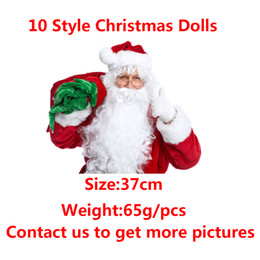 Chinese  10 Style Christmas Elf Doll Plush toys Elves Xmas dolls and Books Clothes on the shelf For Kids Holiday Christmas Gift Shipping Free manufacturers