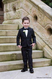$enCountryForm.capitalKeyWord Canada - Cute Couture 2016 Children Occassion Wear Page Boy Tuxedo for Boys Toddler Formal Suits (Jacket+Pants+Bow) Boy's Formal Wear