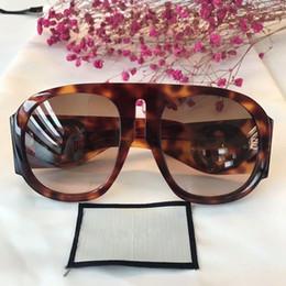 4c0059d6071 New fashion women designer sunglasses for women men sunglasses plank frame  top quality summer style womens glasses protection eyewear G0152S