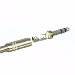 100pcs metal 6 35mm male 1 4