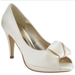 $enCountryForm.capitalKeyWord NZ - 2016 Plus Size White Wedding Shoes Slip On Peep Toe Slip On Custom Made Ladies Summer Style Sandals Peep Toe Cheap Modest Fashion