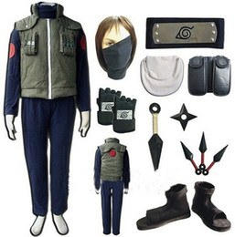 Discount games xxl - Naruto Hatake Kakashi Full Set Cosplay Costume