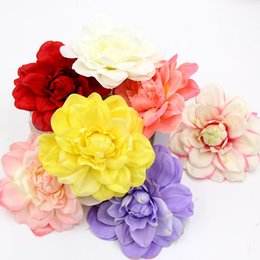 Shop artificial large silk flower wholesale uk artificial large 10pcs large silk handmake artificial flower heads for wedding decoration diy wreath gift box scrapbooking craft fake flower mightylinksfo