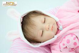 $enCountryForm.capitalKeyWord Canada - Genuine Brand Baby Doll Reborn Baby Silica Gel Parent-child Toy 45cm 1.2 kg NPK Reborn Baby