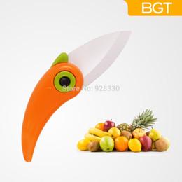 $enCountryForm.capitalKeyWord Canada - Newest Mini Bird Ceramic Folding Knife Pocket Purity Zirconia Ceramic Kitchen Knives Fruit Knife With Colourful ABS Handle