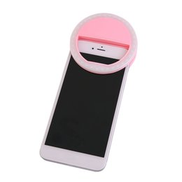 Smart Phone Fill Light Rechargeable Clip On Design Luminous Lamp LED Flash  Light Phone Ring For Iphone For Samsung