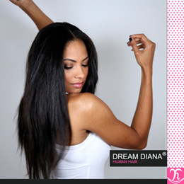 LuLa human hair online shopping - Ms Lula Brazilian Virgin Hair Kinky Straight Bundle Deels Queen Hair Products Brazilian Straight Cheap Human Hair mink brazilian hair