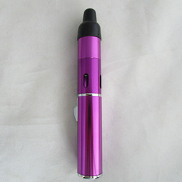 Discount wind proof herbal vaporizer Hot Wholesale Click N Vape Sneak A Vape Vapor Herbal Vaporizer smoking pipe Trouch Flame Lighter with built-in Wind Proo