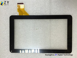 capacitive touch screen tablet pc NZ - High quality 9 inch Tablet PC Capacitive Touch Screen panel digitizer H-0901A1-FPC02-02 ZY TOUCH