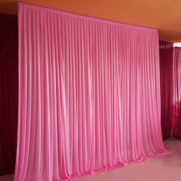 White Solid Wedding Party Backdrop Curtain Drapes Background Decor Studio  Draping