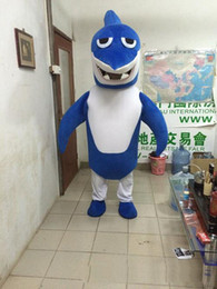 $enCountryForm.capitalKeyWord Canada - 2017 High quality shark mascot costume cute cartoon clothing factory customized private custom props walking dolls doll clothing