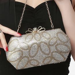 $enCountryForm.capitalKeyWord Canada - New fashion Elegant handbags wedding dresses small evening bags bridal day clutches one chain gold color Shoulder Bags 3 colors
