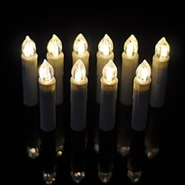 Flameless candles Free shipping online shopping - Candle Lights Warm White Led Wireless Remote Control Birthday Wedding Romantic Scented Candles Flameless Lamps Party