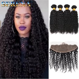 $enCountryForm.capitalKeyWord Australia - 8A Peruvian Deep Wave 4 Bundles with Lace Closure Frontal Brazilian Afro Kinky Curly Deep Loose Water Wave Weave Human Hair Extensions