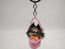 $enCountryForm.capitalKeyWord Australia - Manufacturers selling multicolor small fox mink hair pendant explosion handbags accessories pendant Car Keychain