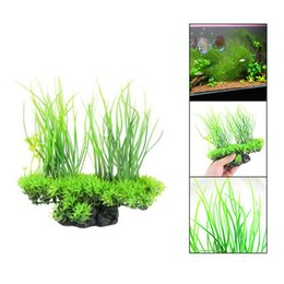 $enCountryForm.capitalKeyWord Canada - Mayitr 1pc 20cm Plastic Aquarium Artificial Plants Decoration Fake Grass Plant Simulation Aquarium Fish Tank Ornament Green