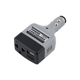 Опт DC 12V / 24V к AC 220V зарядное устройство Power + USB Автомобильный мобильный конвертер инвертор адаптер по всему миру магазин