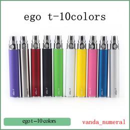 China EGOT Battery 650mah 900mah 1100mah for 510 Thread Ce4 Ce5 MT3 H2 Electronic Cigarette Electric Cigarettes-Color Random suppliers