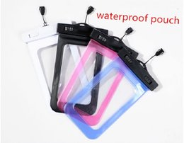 $enCountryForm.capitalKeyWord Canada - Waterproof case for samsung s6 s5 waterproof dry cell phone water proof neck transparent pouch bags for iPhone 5s 6 plus i6