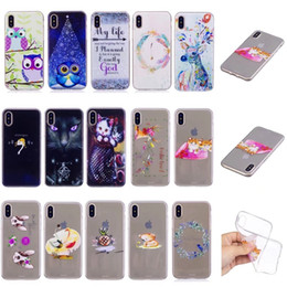 3b891253fb Fashion Cartoon Soft TPU Case For Iphone X 8 7 Plus 6 6S SE 5 5S Silicone  Owl My Life Cat Cute Lovely Colorful Clear Back Cover Skin 2017