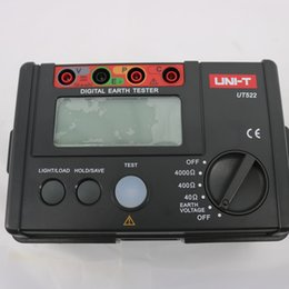 digital earth resistance tester NZ - UNI-T UT522 Digital Earth Tester Earth Resistance Device High Accuracy and Reliability Measure Earth Voltage