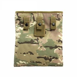 Discount magazine dump pouch Tactical Mag Dump Pouch Airsoft Paintball Recovery Molle Large Magazine Pouch Hunting Utility Slingshot Ammo Bags