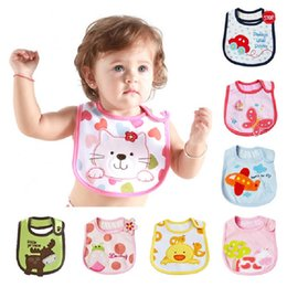 Brand New 0-3Years Baby Bibs Infant Saliva Towels Newborn BiB Wear Burp  Cloths 3 Layers Waterproof Top Quality 23f5d57709db