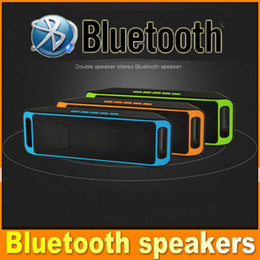 music sports mp3 2020 - Portable Bluetooth Wireless Speaker Sport Mini Stereo HIFI FM Radio MP3 Music Player For Mobile Phones OM-SC-208