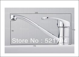 Beautiful High Quality Water Tap Single Handle Kitchen Sink Mixer Swivel Long Spout  Kitchen Bar Sink Faucet QH18002