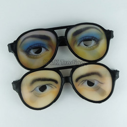 EyEglassEs shops online shopping - New Novelty Party Eyeglasses Nerd Eye Glasses Party Eyewear Funny Stage Prop Cheap Glasses Shop