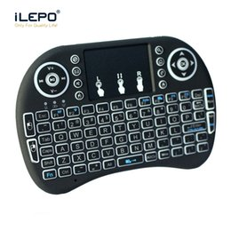 $enCountryForm.capitalKeyWord NZ - Mini Rii I8 wireless keyboard 2.4G Fly Air Mouse for Android Tv box tablet mini keyboard Remote Control Wireless keyboard Air Mouse
