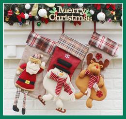 $enCountryForm.capitalKeyWord NZ - Christmas socks cute fashion gift bag pendant pendant new Christmas supplies