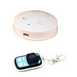 Smoke Detector Motion Detection Camera Canada - Remote Control Motion Detection 1080P Smoke Detector Home Security Mini DV Nanny Camera DVR with 72 Degree Viewing Angle