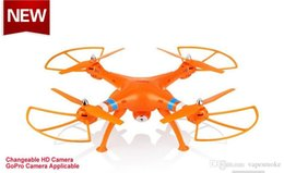 Quadcopter Quad Drone Canada - 2015 SYMA X8C X5C X5 RC Drone Quadcopter with 2 Megapixels HD Camera GoPro Camera applicable Big Quad copter Hobby Helicopter vs DJI Phantom