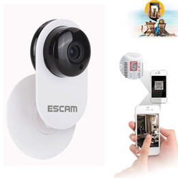 Home Infrared Security Systems Canada - H.264 HD 720p Mini Home Wifi Wireless IP Camera Security Surveillance System