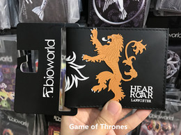 Pocket Games Canada - Game of Thrones Stark Winter is Coming Short Wallets Leather Wallet With Coin Pocket Wolf Wallets For Boys Girls Purse