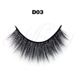$enCountryForm.capitalKeyWord Australia - Wholesale-Free shipping Top quality luxury Newest private label false eyelash 3D style with 0.07 silk eyelashes