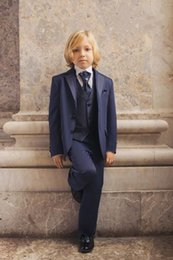 $enCountryForm.capitalKeyWord Canada - 2015 New Hot Sale Custom Made Kids' Tuxedos Navy Boys' Suit Wedding Party Boys' Formal Occasion Suit Formal Attire