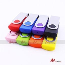 Оптовые продажи 100PCS 128MB 256MB 512MB 1GB 2GB 4GB 8GB 16GB Поворотный USB-накопитель с флэш-памятью Бесплатная графика для лазерной гравировки