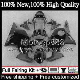 Cbr 954 Bodywork Australia - Body For HONDA CBR900RR CBR 954 RR CBR900 RR CBR954RR 02 03 41PG8 Glossy black CBR954 RR CBR 900RR CBR 954RR 2002 2003 Fairing Bodywork