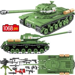 $enCountryForm.capitalKeyWord Australia - 1068 Pcs Military Soviet Russia Is-2m Heavy Tank Building Blocks Soldier Police Weapon Bricks Toys Legoingly Tank Blocks Ww2MX190820