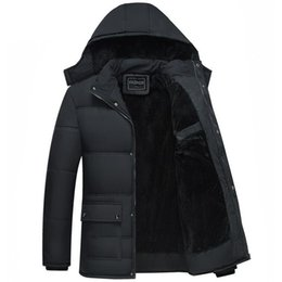Waterproof Parkas Australia - New Fashion Winter Men Thickening Casual Cotton Jacket Outdoors Waterproof Windproof Breathable Coat Parka Plus Size 5xl Jacket