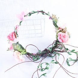 عرس الملابس التبعي زفاف العروس تاج عقال الاصطناعي ولي الحرير زهرة الزفاف غطاء الرأس رئيس قطعة زينة