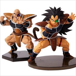 $enCountryForm.capitalKeyWord NZ - Anime Dragon Ball Z Raditz and Nappa Action Figure PVC Vegeta figurine Toys CEECILIO NABA