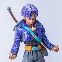 Discount figure dragon ball collection - Special Color ver. DragonBall Super Super Saiyan Trunks Torankusu PVC Action Figure Dragon ball Z Collection Gift Brinqu